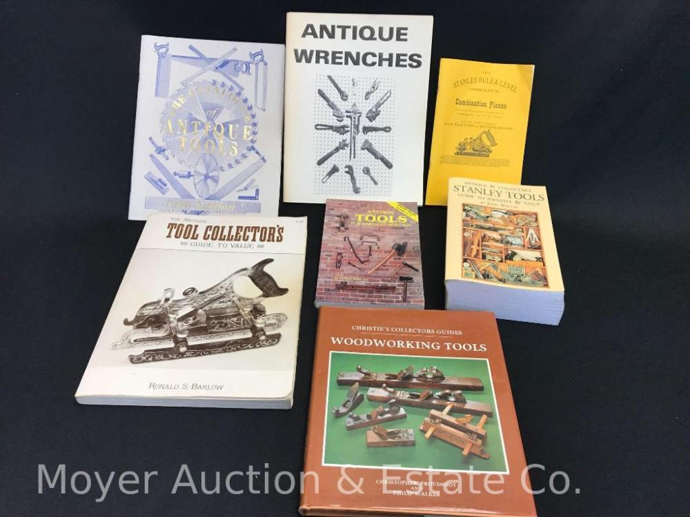 Group Of 6 Tool Related Reference Books Incl Antique