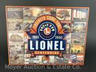 "Lionel Trains Tin Sign, 12""x16"", reproduction, like-new"
