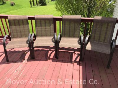 4 Outdoor Patio Chairs