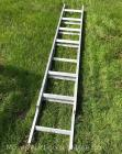 Small Aluminum Extension Ladder 9ft., appears good condition