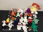 Group of Beanie Babies