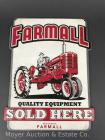 "Farmall Quality Equipment Sold Here Tin Sign - 10"" x 13"""