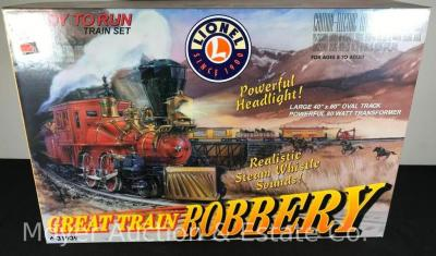 Lionel Great train Robbery Train Set - Appears New with Original Boxes