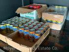 Group of 5.5oz. canned juices: 16 orange, 17 white grapefruit, 27 pineapple, & 30 tomato; bid is for the group