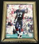 Buffalo Bills Coy Wire Signed Autograph Personalized to Mike 8x10
