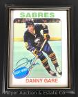 Buffalo Sabres Danny Gare Signed Poster 8x10