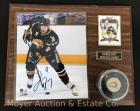 Buffalo Sabres Derek Roy Signed Plaque, Card and Puck 12x15