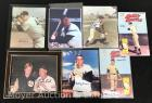 Group of Baseball Photos and Mickey Mantle Comic Books
