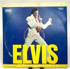 "Elvis Record Album: ""ELVIS"", 2 record set, 1973, RCA Special Products/Brookville Records DPL2-0056, mustard labels"