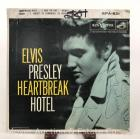 "Elvis Presley 45rpm Record: ""Heartbreak Hotel"", 1956 RCA EPA-821; includes Heartbreak Hotel, Money Honey, I Was the One, & I Forgot to Remember"