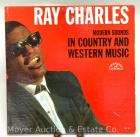 "Ray Charles Record Album: ""Modern Sounds in Country & Western Music"", 1962, ABC/Paramount ABC-410, mono"