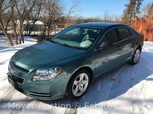 2009 Chevrolet Malibu LS with only 25,113 miles, one-owner, excellent condition, VIN #1G1ZG57B49F229601 (preview at our Alden office by appt.)