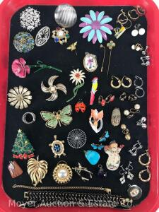 Group of Asst. Costume Jewelry