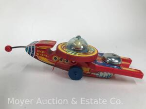 "1998 Fisher-Price Classic ""Space Blazer"" pull toy, No. 980750, limited edition, with box"