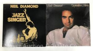 2 Neil Diamond Record Albums