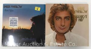 2 Barry Manilow Record Albums