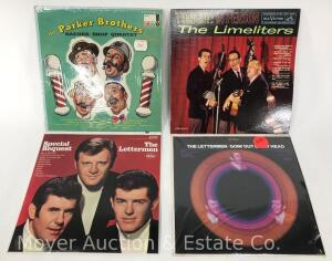 4 Record Albums, The Letterman, The Limeliters and The Parker Brothers