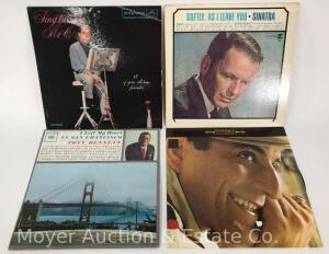 4 Record Albums, Frank Sinatra, Perry Como and Tony Bennett