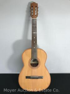 Giannini Number 6 Acoustic Guitar, Serial Number 15647