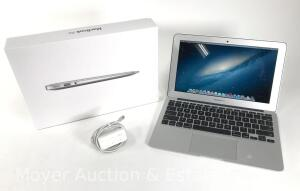 "MacBook Air Computer, 11""screen, with power cord & original box, appears like new, mid-2012"