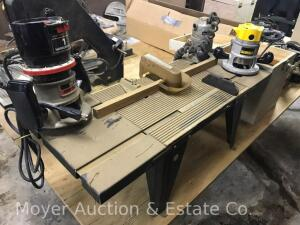 Router Table with 3 Routers