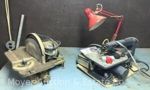 Craftsman Scroll Saw and Disc Sander, Do not work