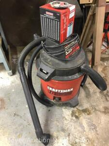 Craftsman 16 Gallon Wet/Dry Shop Vac, 5.25 Peak HP, includes new filter