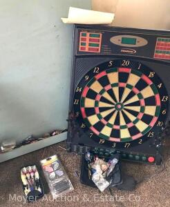 Electronic Dart Board with Asst. Darts