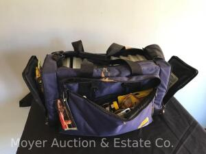 Large Fishing Bag with Contents, Lures, Hooks, Etc.