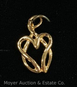 Support the Hunters Hope Foundation: selling this new Hunters Hope Pendant, yellow-gold tone, in gift box. The proceeds go directly to benefit H/Hope
