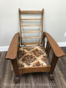 Morris Arm Chair, Missing Cushion