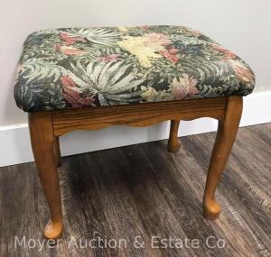 Upholstered Bench/Stool, not old