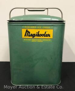 "Vintage Magikooler Ice Chest, 15"" Tall"