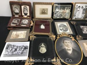 Group of Early Framed Photographs