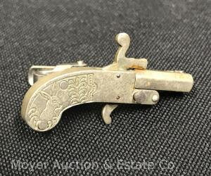 Unique Tie Clip Cap Gun, Functions with Caps, Rabbit, Unknown Maker