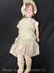 Antique Porcelain Doll, Germany, 24""