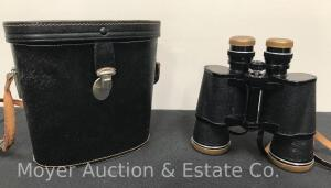 Vintage Selsi Luminous 7x50 Binoculars, With Case