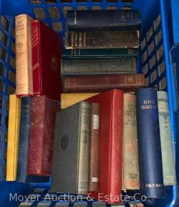 Group of Assorted Old Books, several agricultural related, children's, etc.