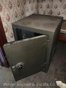 "Yale Safe, works, combination included, 17""w x 25""h x 18""d"