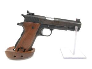 "Colt's 1911-A1 ""Model of 1911 U.S. Army"", .45 ACP, Target Model with Sights, Adjustable Target Grip, National Match Barrel and Bushing"