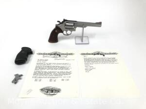 "Smith & Wesson 68-2, .38 Special, Manufactured for the Los Angeles Police, Originally model 67, factory stamped over ""8"", Includes paperwork"