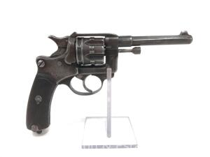 French Military 1892 Revolver, 8mm French Rimmed, Marked St. Ettienne on Barrel and Cylinder
