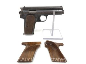 Femaru-Frommer Stop Pocket Auto, 7.65mm, Includes One Magazine and Extra Target Grips