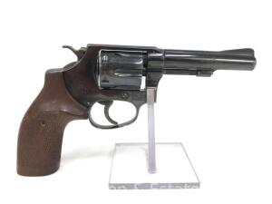 Smith and Wesson, Model 30-1, .32 S&W Long, With Herrett Grips