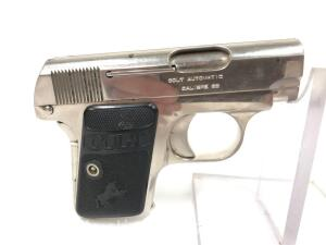 Colt Automatic, .25 cal, Pocket Pistol, Includes One Magazine, Appears in Good Overall Condition
