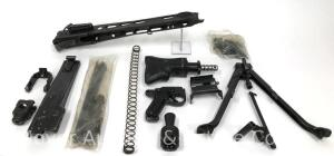 MG-42 German Machine Gun Parts Kit, MISSING RECEIVER AND BARREL, PLEASE READ DESCRIPTION