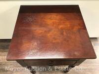 "Antique 2drawer Stand, nice condition, 21""w x 29""h - 2"