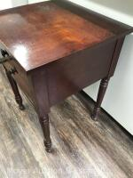 "Antique 2drawer Stand, nice condition, 21""w x 29""h - 4"