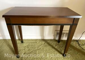 Piano Bench, lift-top, good cond.