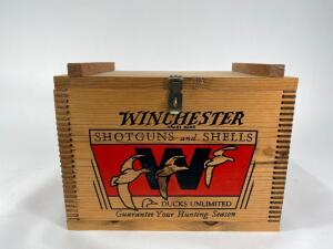 "Wood Winchester Ducks Unlimited Chest, 14.5"" Wide"